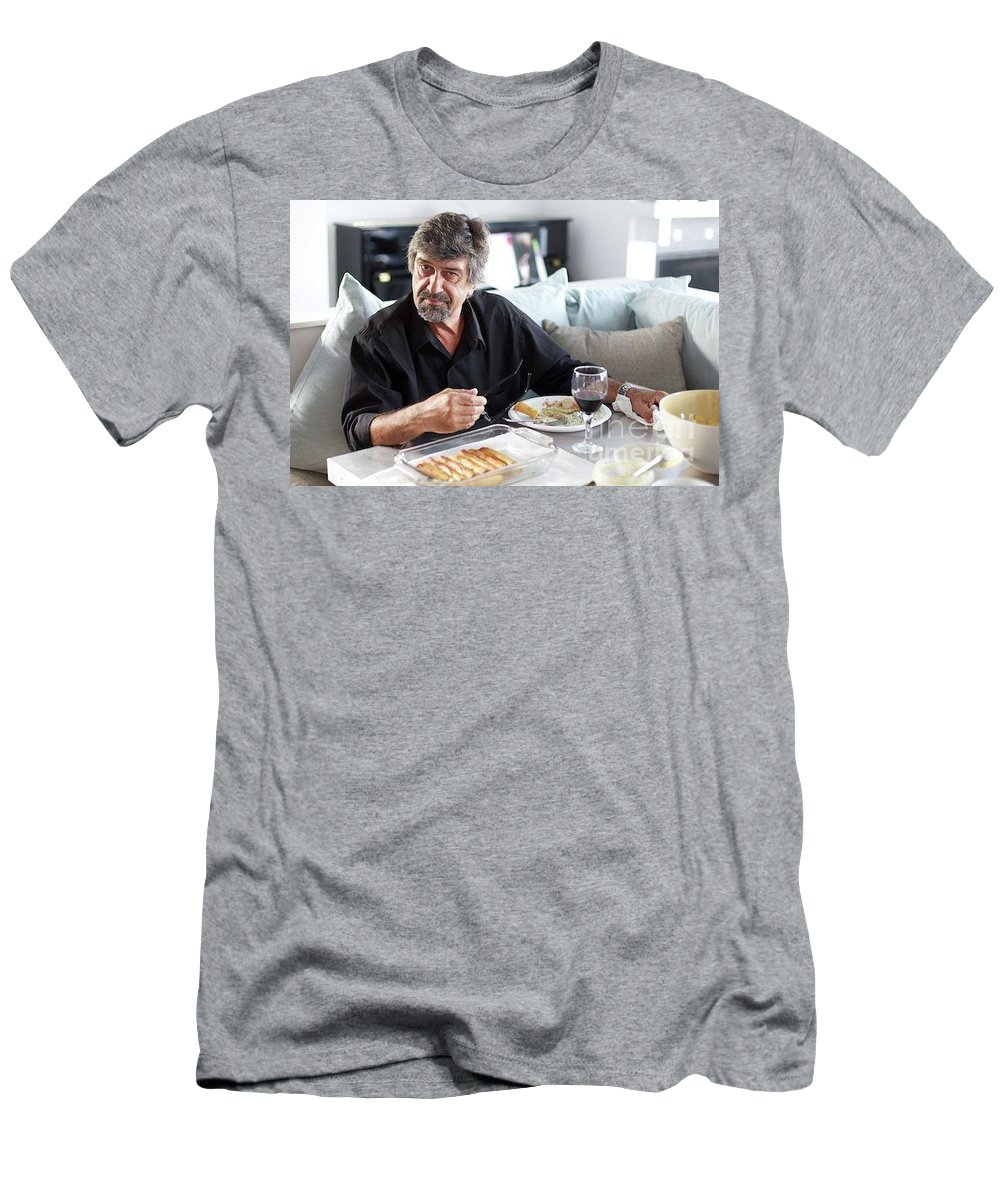 Food Men's T-Shirt (Athletic Fit) featuring the photograph Wmim by Simaen Skolfield