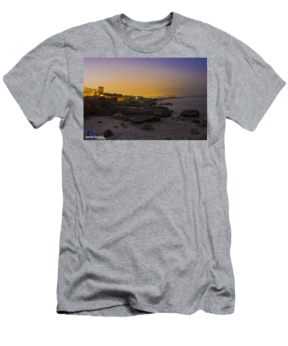Sell Men's T-Shirt (Athletic Fit) featuring the photograph Work Does Best by Khaled Alkhaldi