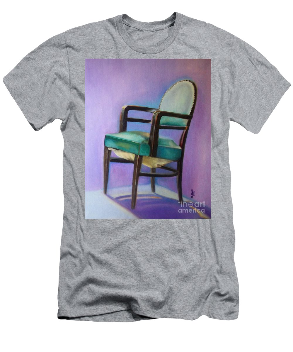 Still Life Men's T-Shirt (Athletic Fit) featuring the painting Ye Who Are Weary by Marlene Book