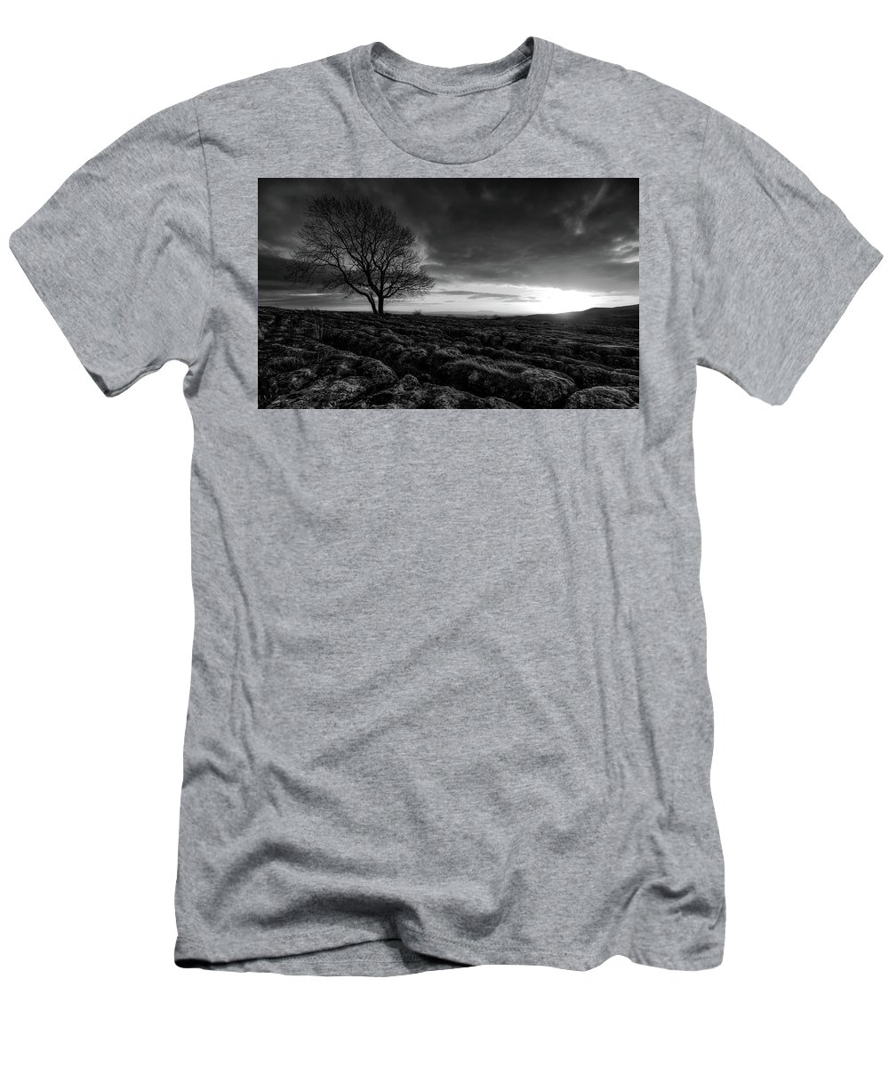 Yorkshire Men's T-Shirt (Athletic Fit) featuring the photograph Yorkshire Serenity by Unsplash