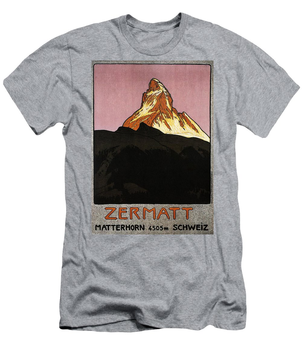 Matterhorn Mixed Media T-Shirts