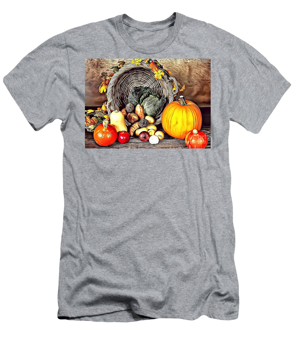 Urban Men's T-Shirt (Athletic Fit) featuring the digital art 2 Eat Me Now by Leo Rodriguez
