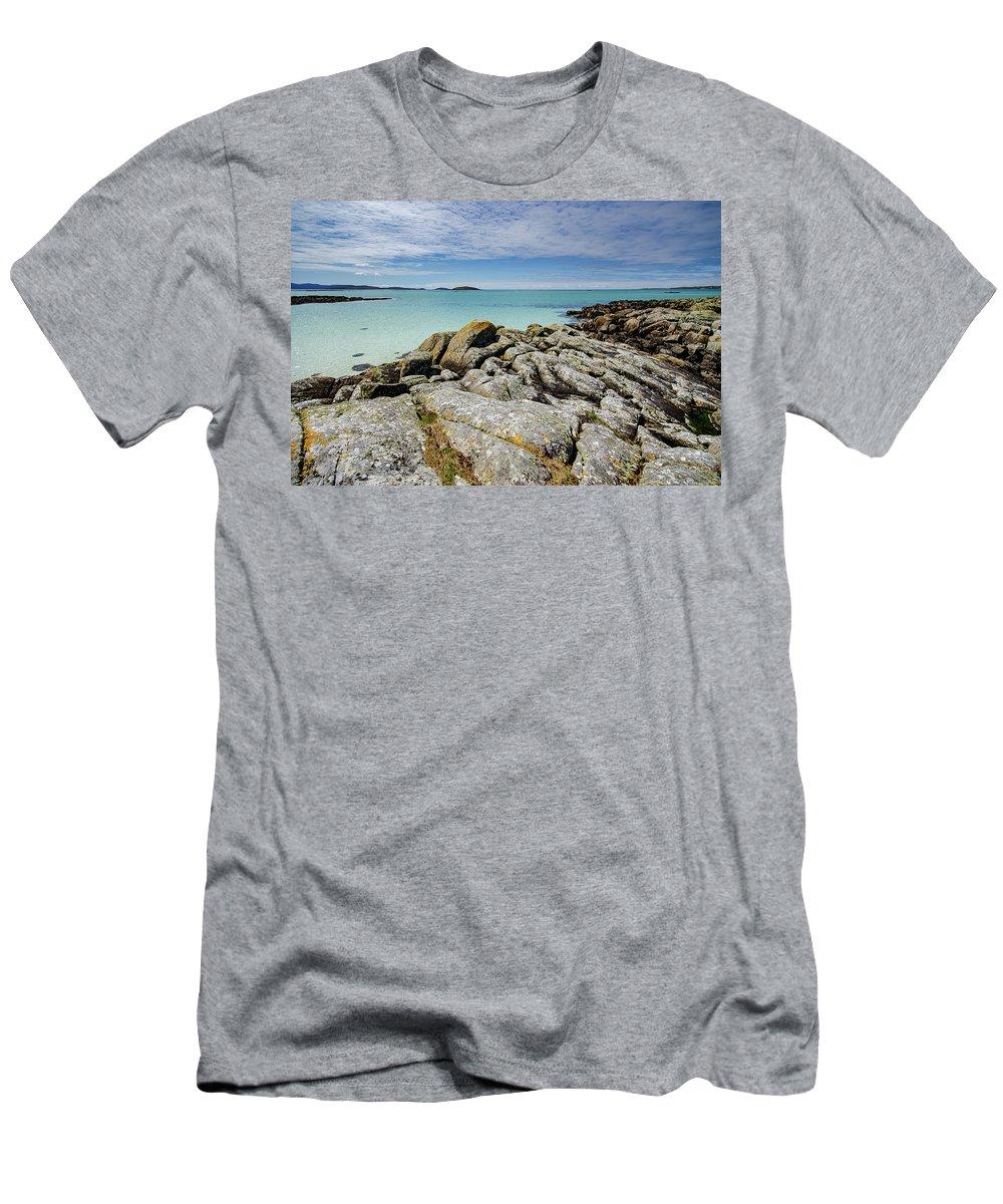 Eriskay Men's T-Shirt (Athletic Fit) featuring the mixed media Eriskay by Smart Aviation
