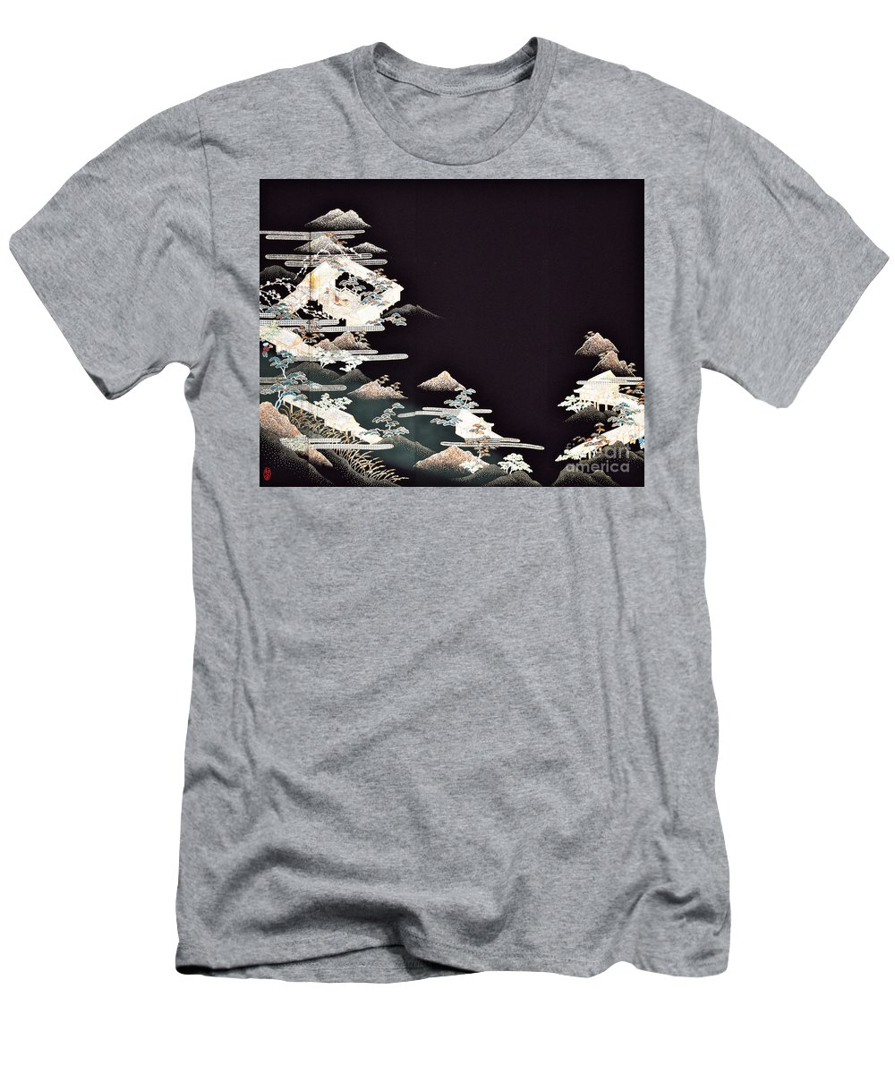 T-Shirt featuring the digital art Spirit of Japan T54 by Miho Kanamori