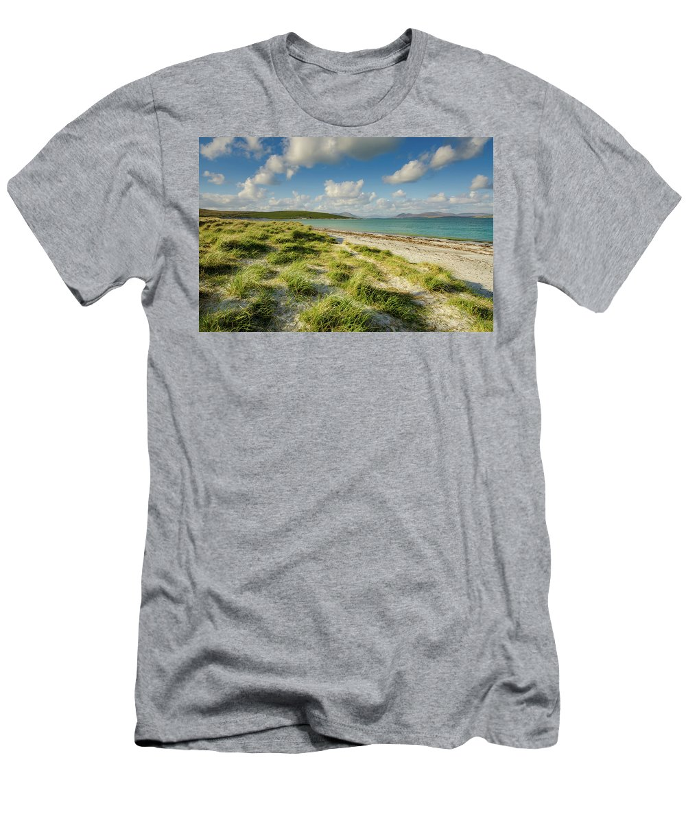 Berneray Men's T-Shirt (Athletic Fit) featuring the mixed media Berneray by Smart Aviation