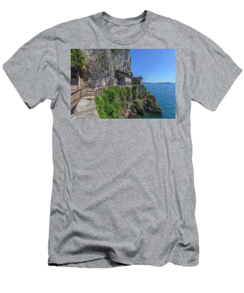 Santa Caterina Del Sasso T-Shirt featuring the photograph Santa Caterina Del Sasso - Italy by Joana Kruse