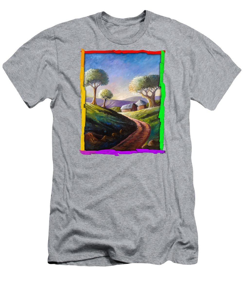 Thatched Roof Paintings T-Shirts