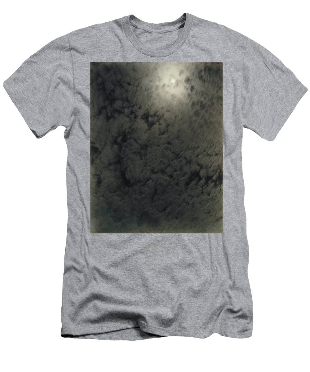 Nature Men's T-Shirt (Athletic Fit) featuring the painting Alfred Stieglitz So Subtle That It Becomes More Real Than Reality by Celestial Images