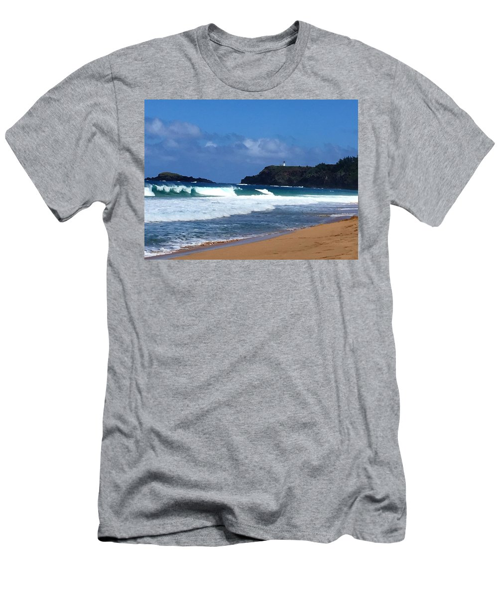 Ocean Men's T-Shirt (Athletic Fit) featuring the photograph Glorious Escape by Katherine Taibl