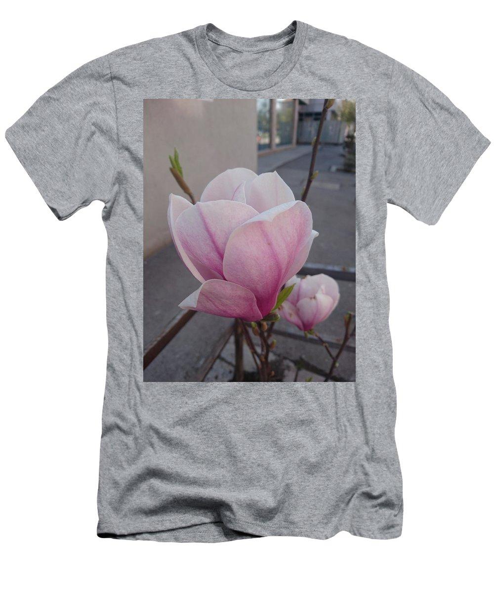 T-Shirt featuring the photograph Magnolia by Anzhelina Georgieva