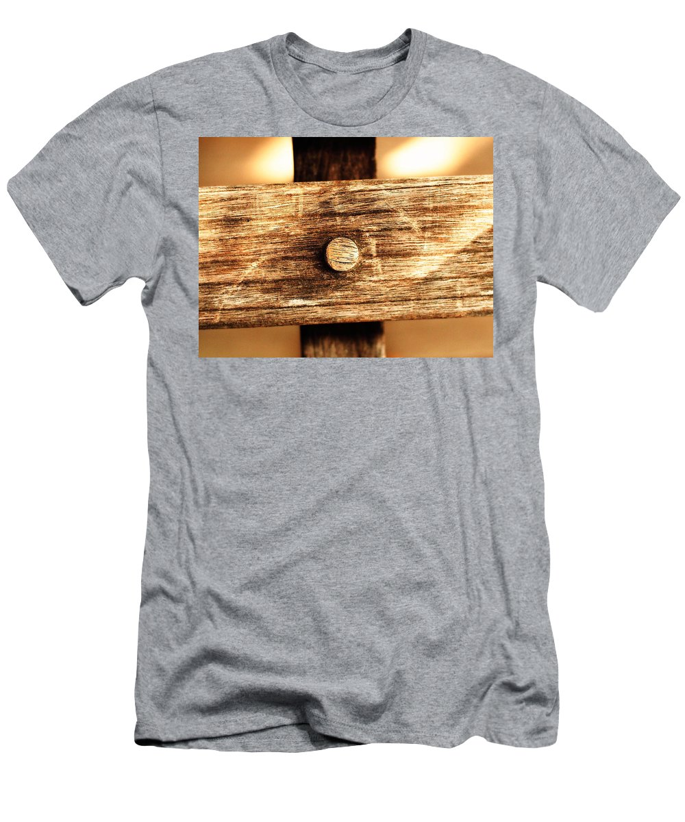 Abstract T-Shirt featuring the photograph On The Cross by Andres Cavazos