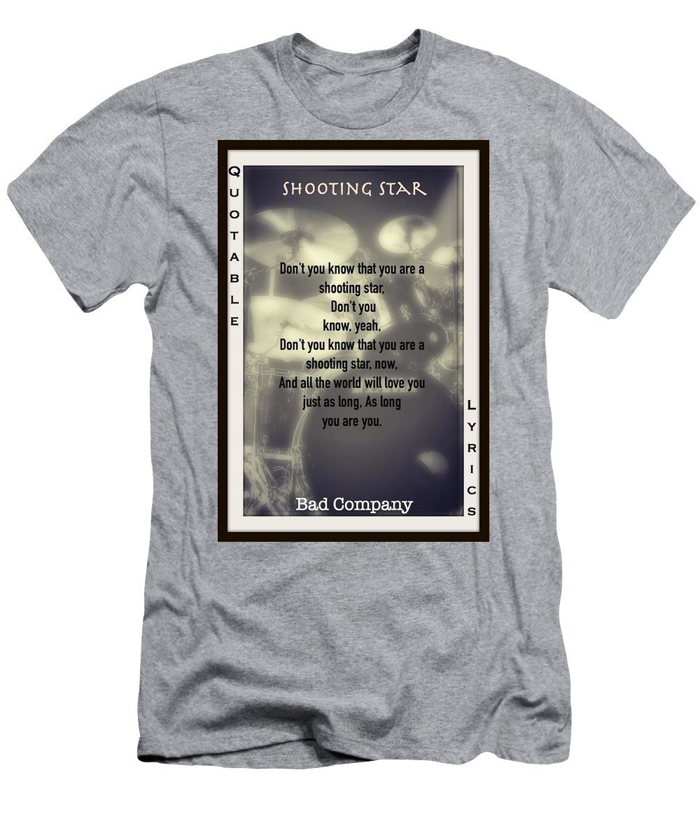 Bad Company T-Shirt featuring the photograph Shooting Star by David Norman