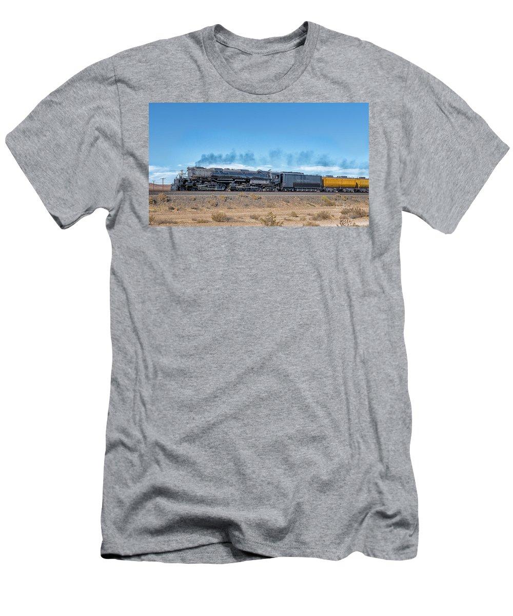 Big Boy T-Shirt featuring the photograph Up4014big Boy 5 by Jim Thompson