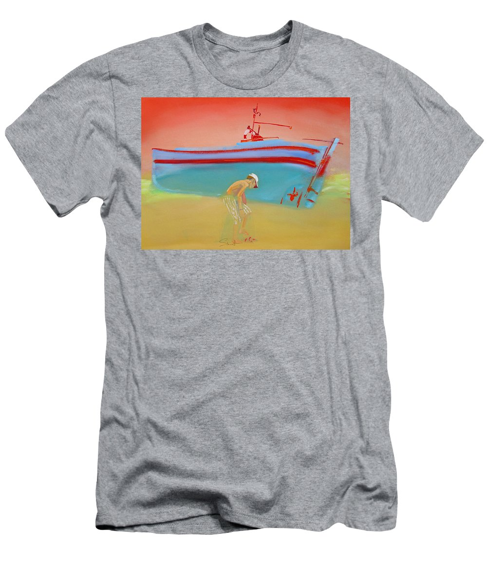 Boy T-Shirt featuring the painting Cabin Boy by Charles Stuart