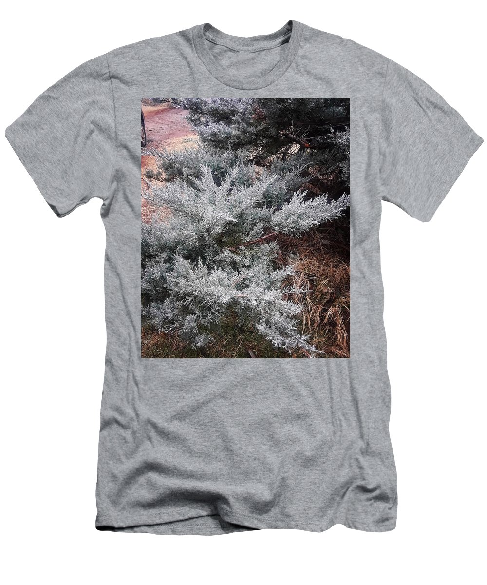 Scenery T-Shirt featuring the photograph First Frost by Ariana Torralba