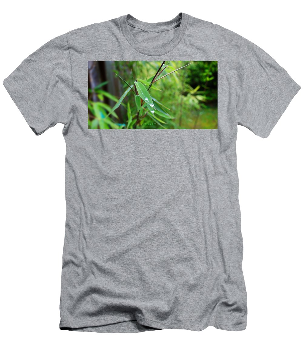 Shades Of Green T-Shirt featuring the painting Forty Shades Of Green by Charles Stuart