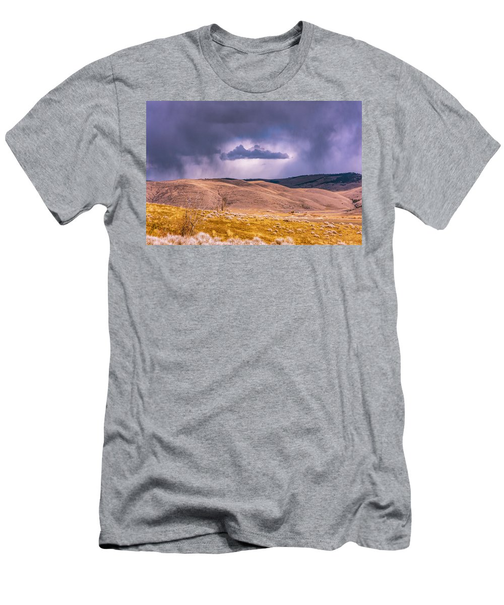 Little Bitterroot Valley T-Shirt featuring the photograph Is That Cloud Holy? by Bryan Spellman