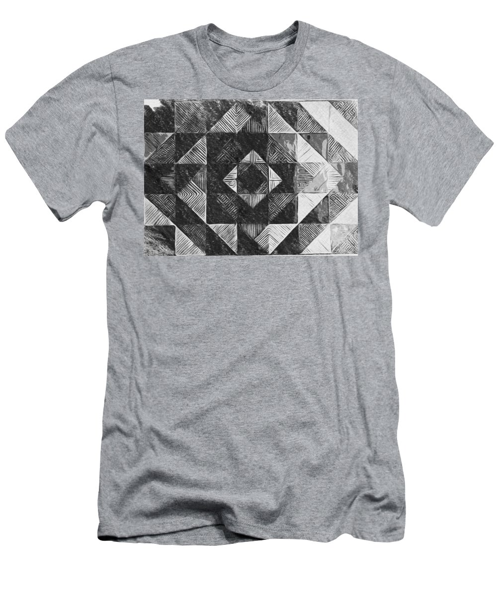 Art T-Shirt featuring the digital art Originated From Within by Andrew Johnson