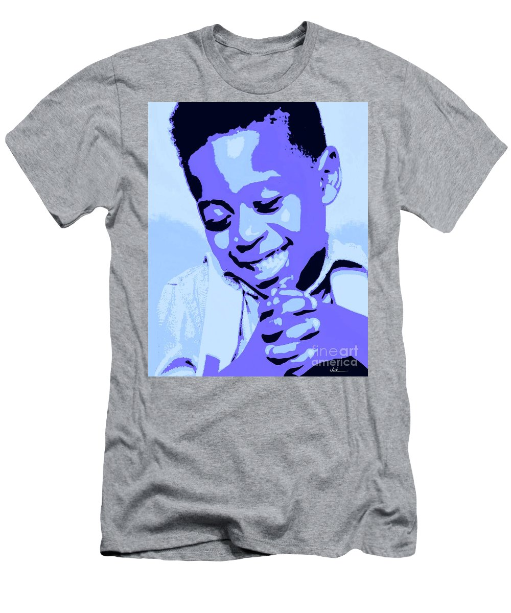 Pray T-Shirt featuring the painting Precious Prayers by Jack Bunds