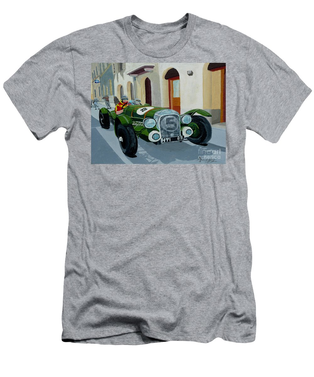 Car T-Shirt featuring the painting Road Rally by Anthony Dunphy