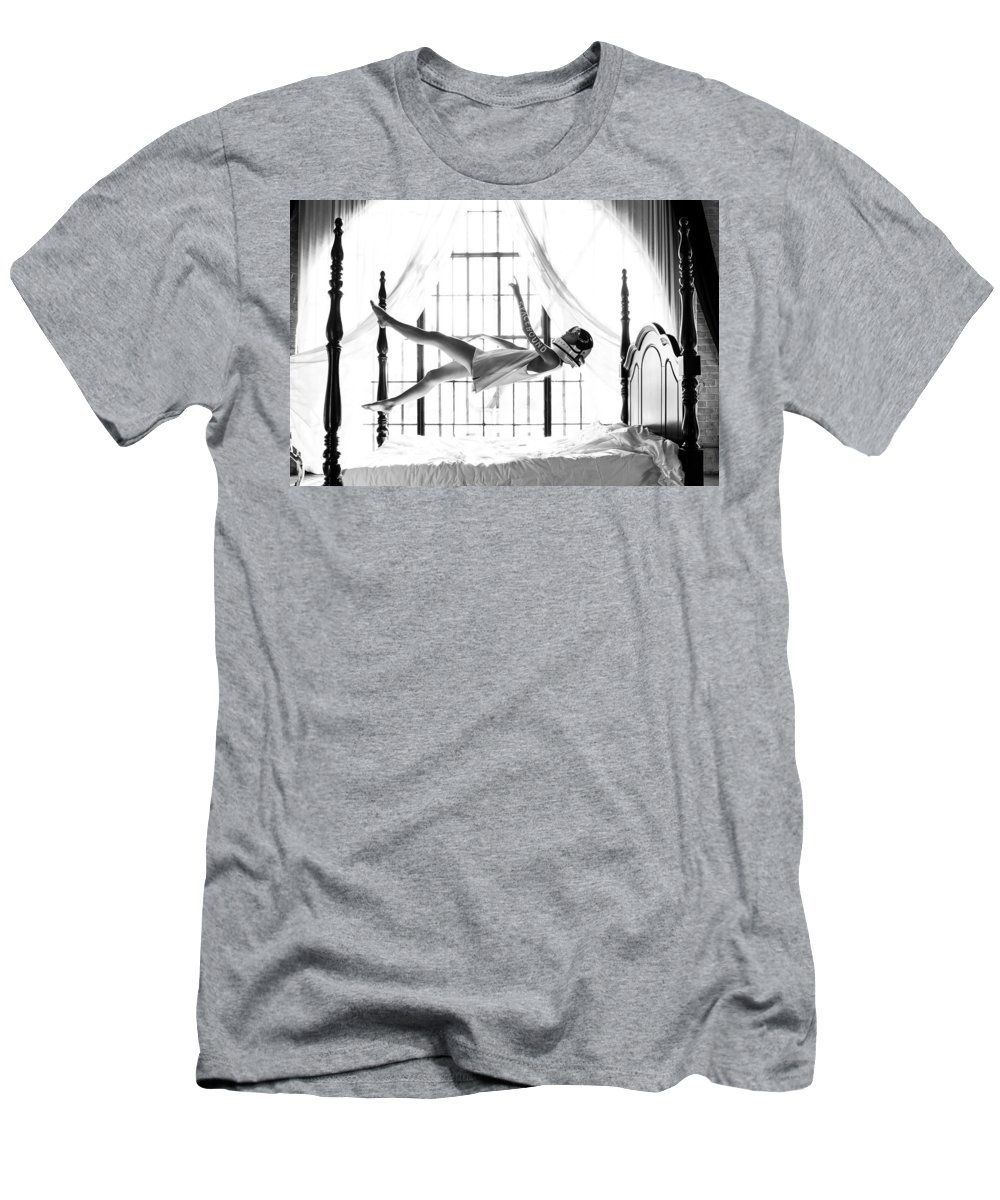 T-Shirt featuring the photograph Spacebound by Brendan North