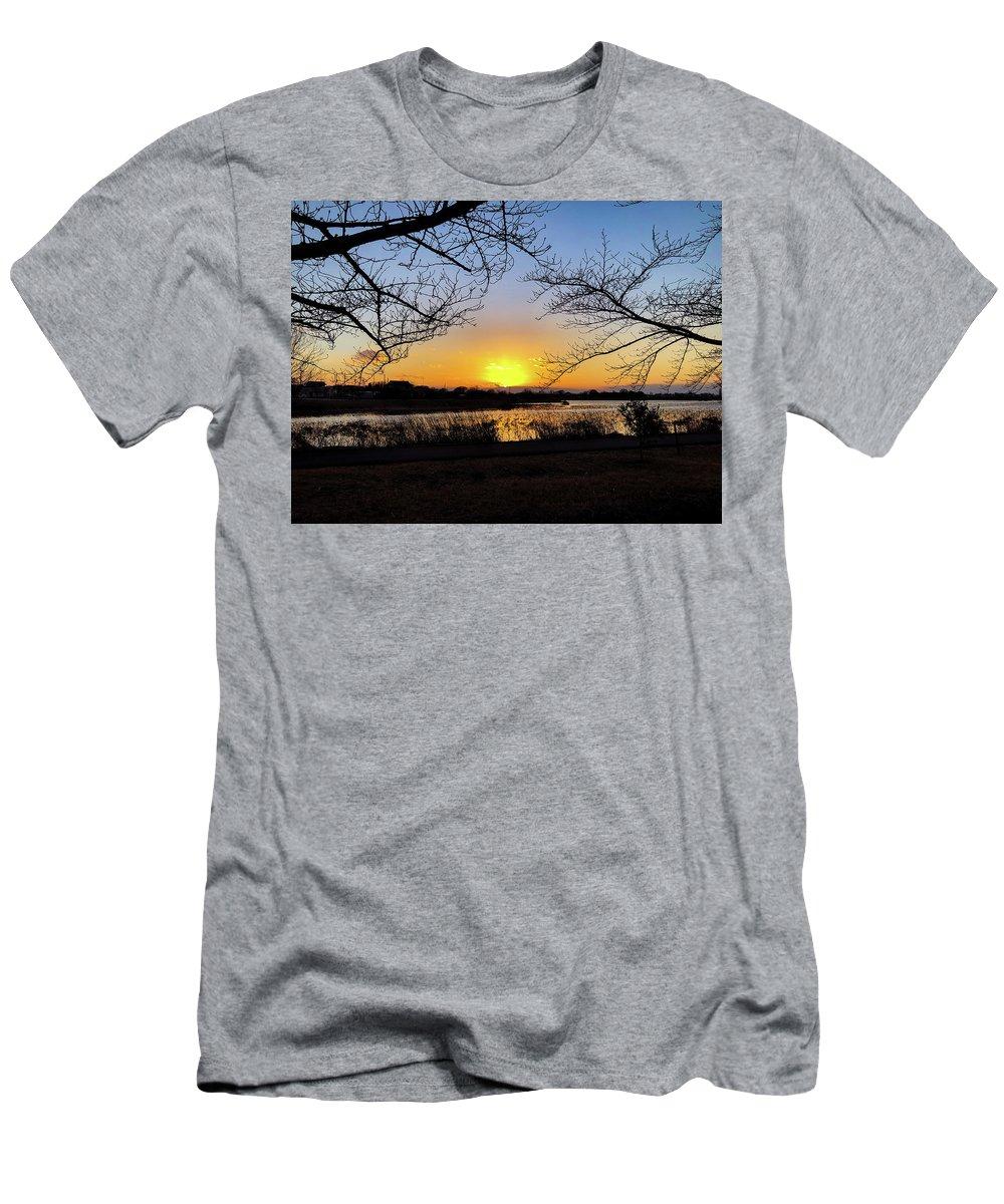 Sunset T-Shirt featuring the photograph Tatebayashi Sunset by Kiyoto Matsumoto