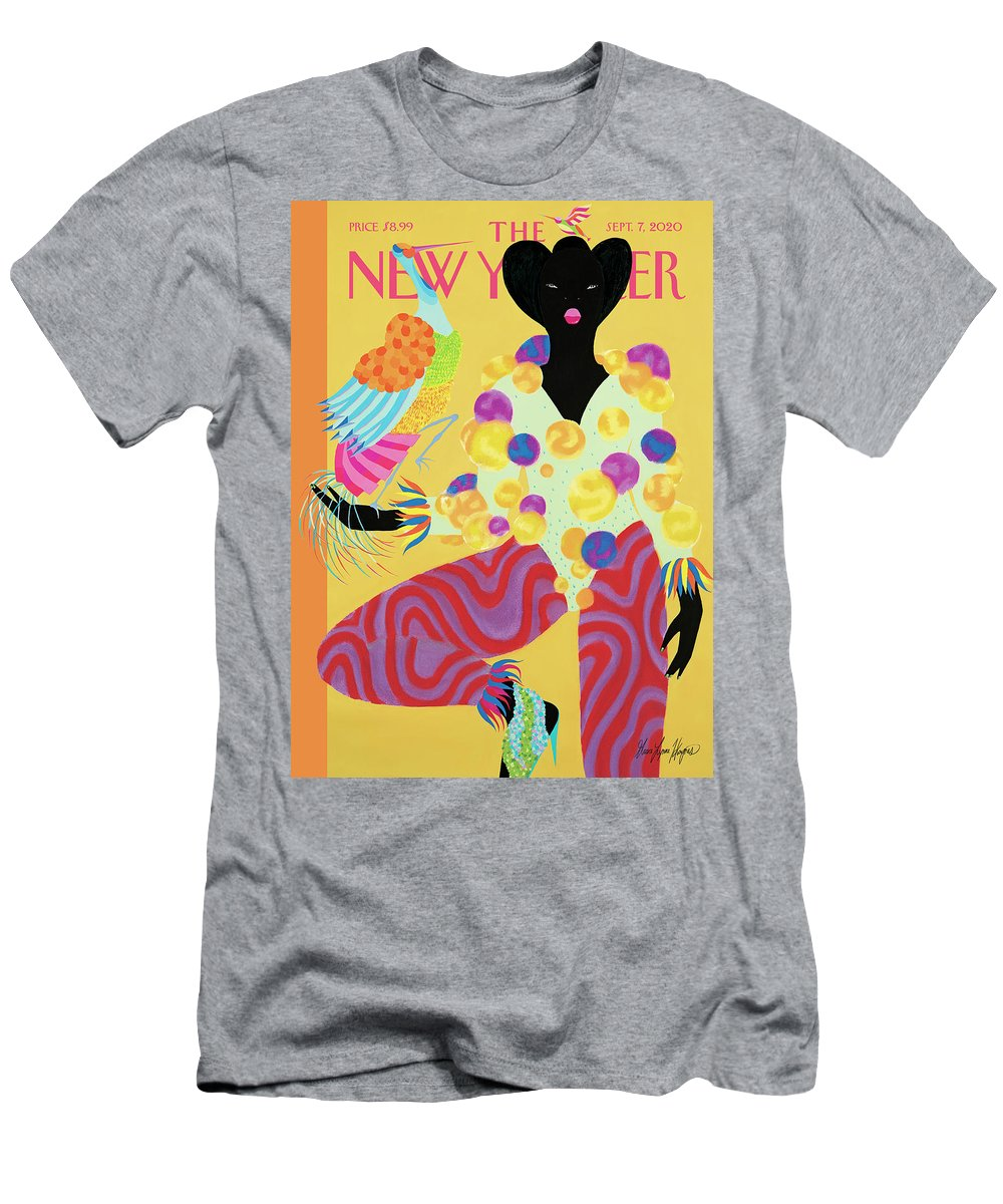 Fashion T-Shirt featuring the painting Trendsetters by Grace Lynne Haynes