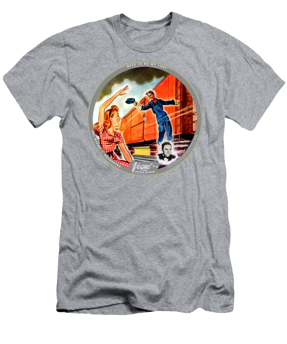 Vogue Picture Record T-Shirt featuring the digital art Vogue Record Art - R 723 - P 14 - Square Version by John Robert Beck
