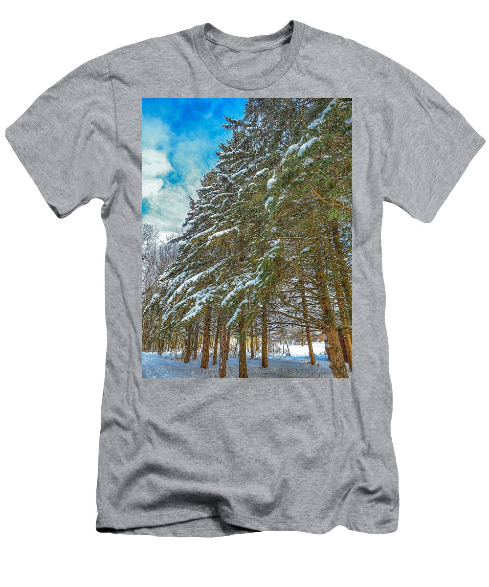 Nature T-Shirt featuring the photograph Winter trees by M Forsell