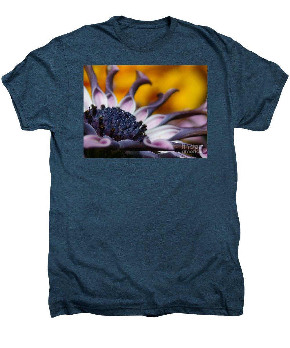 Flower Men's Premium T-Shirt featuring the photograph Beautiful by Line Gagne