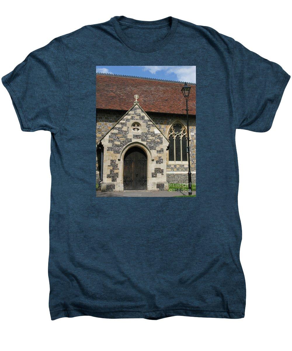 Church Men's Premium T-Shirt featuring the photograph Faithful by Ann Horn