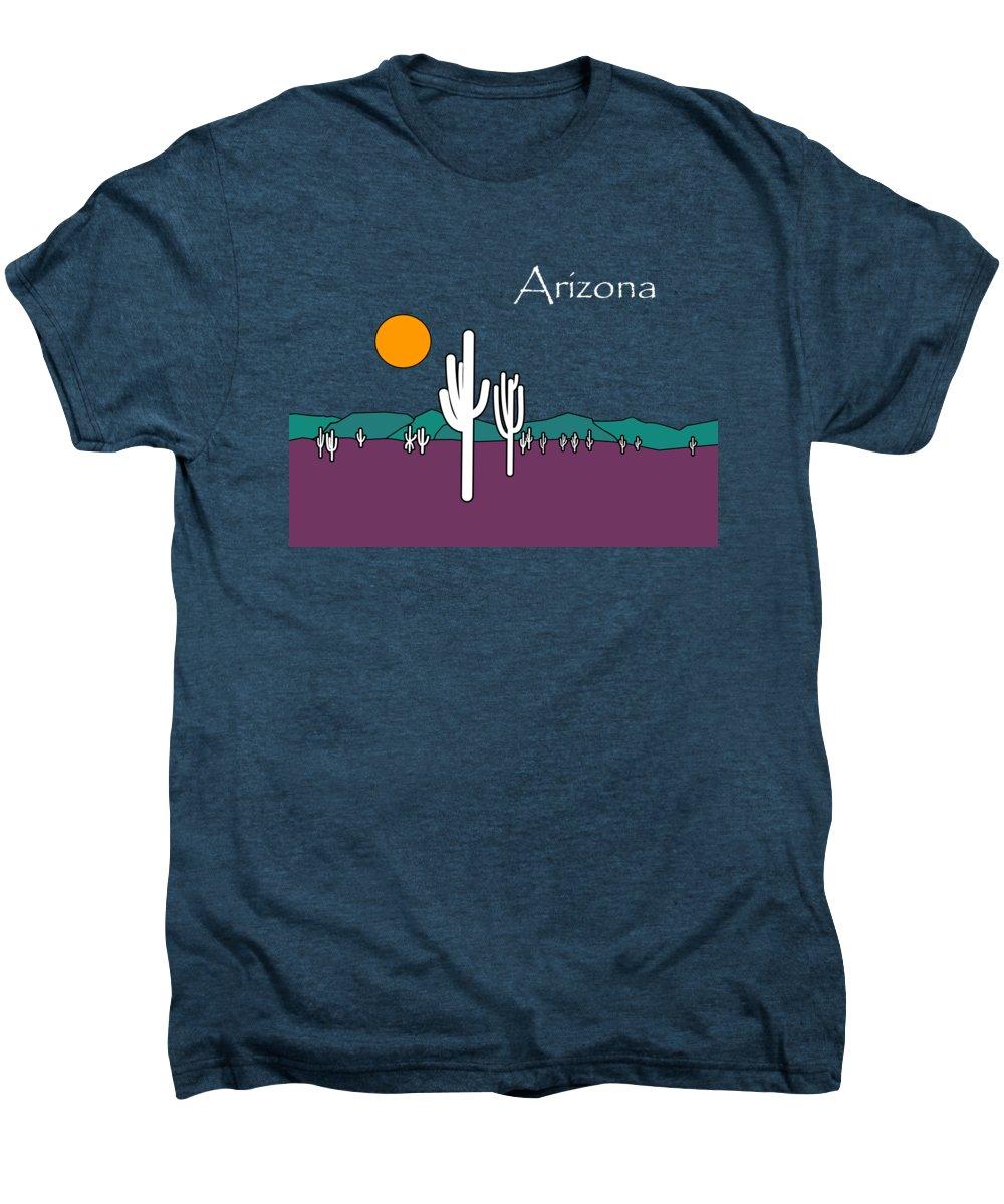 Desert Sunset Premium T-Shirts