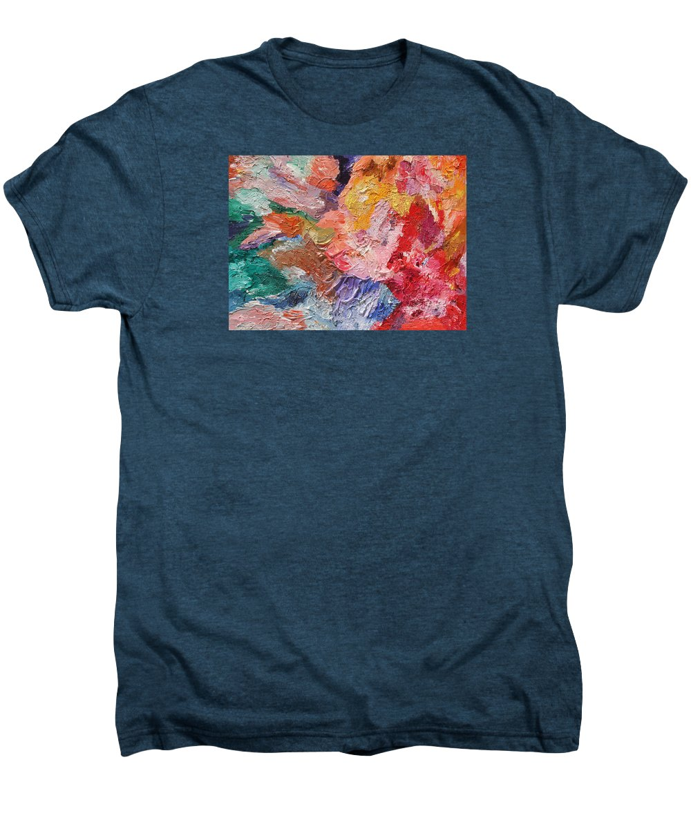 Fusionart Men's Premium T-Shirt featuring the painting Birth Of Passion by Ralph White