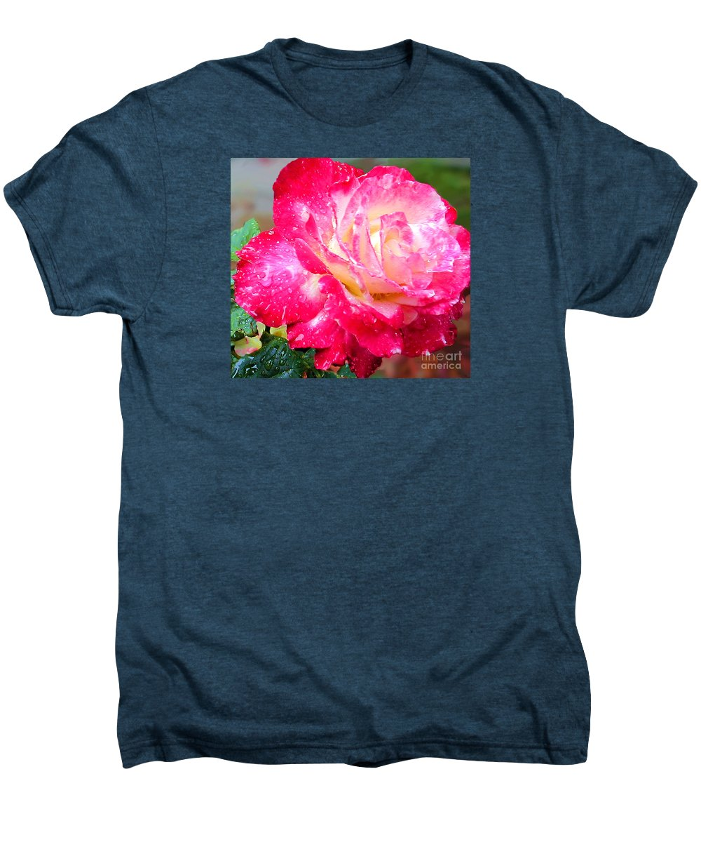 Fine Art Photography Men's Premium T-Shirt featuring the photograph Double Delight by Patricia Griffin Brett