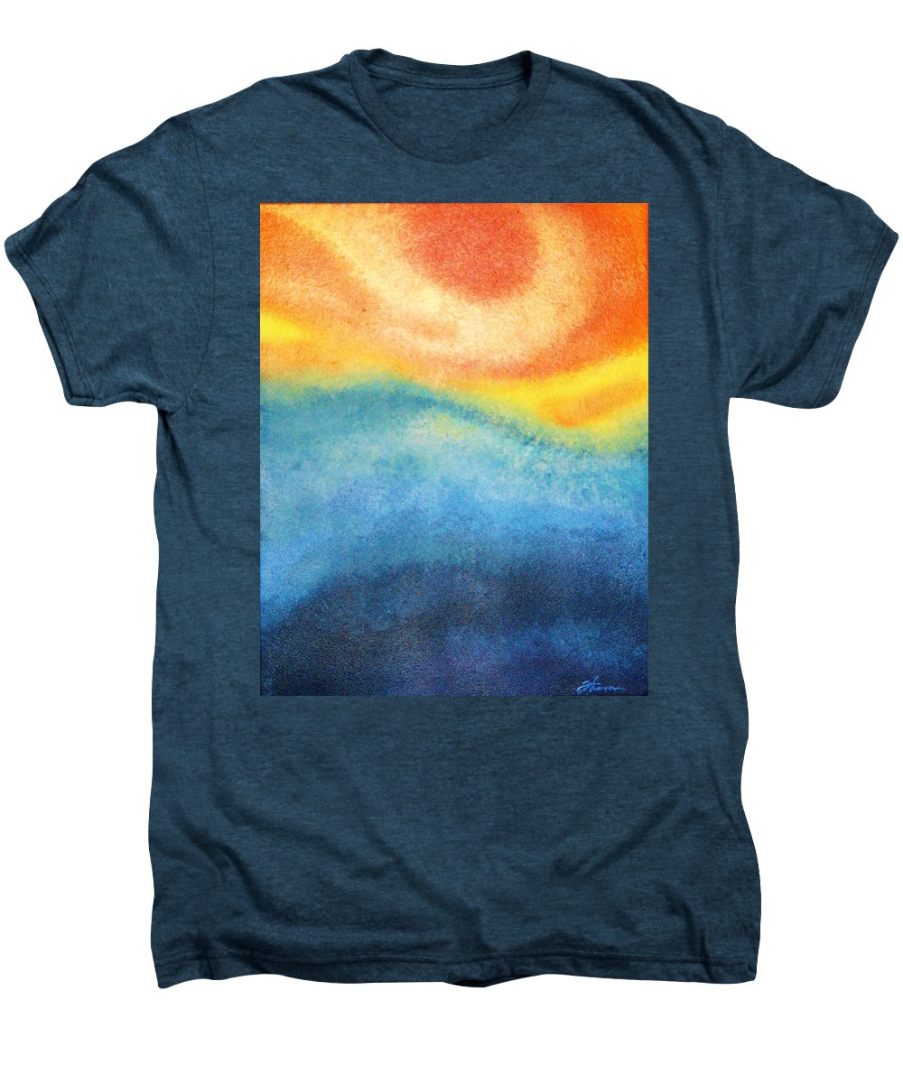Escape Men's Premium T-Shirt featuring the painting Escape by Todd Hoover