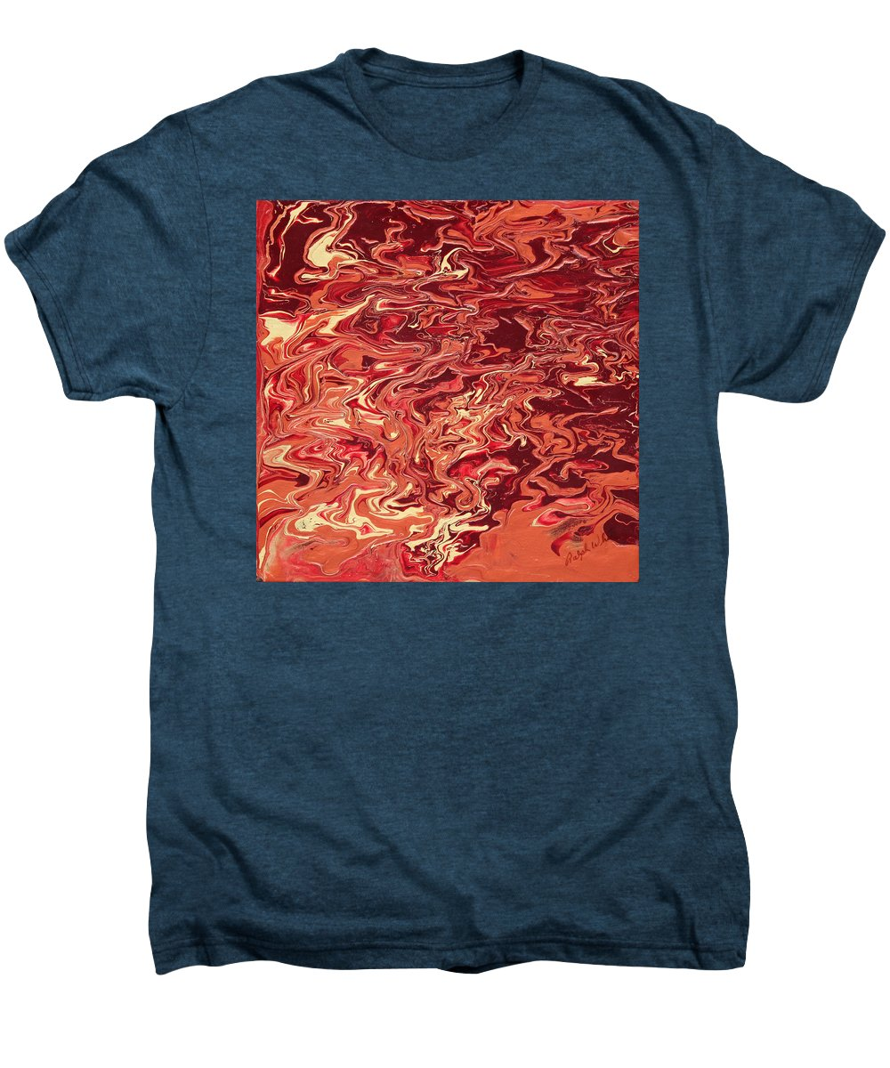 Fusionart Men's Premium T-Shirt featuring the painting Indulgence by Ralph White
