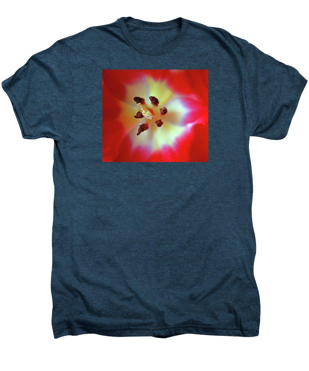 Tulip Men's Premium T-Shirt featuring the photograph Inner Spirit by Bill Morgenstern