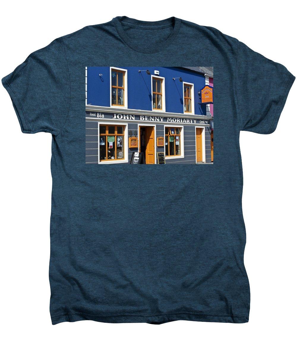 Irish Men's Premium T-Shirt featuring the photograph John Benny by Teresa Mucha