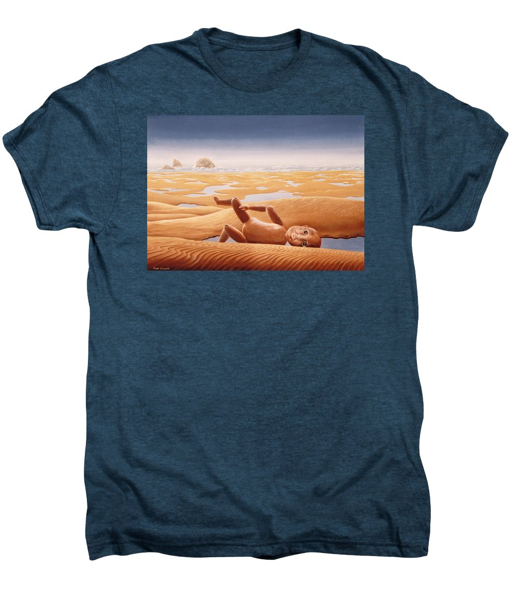 Surreal Men's Premium T-Shirt featuring the painting Lost In A Dream by Mark Cawood