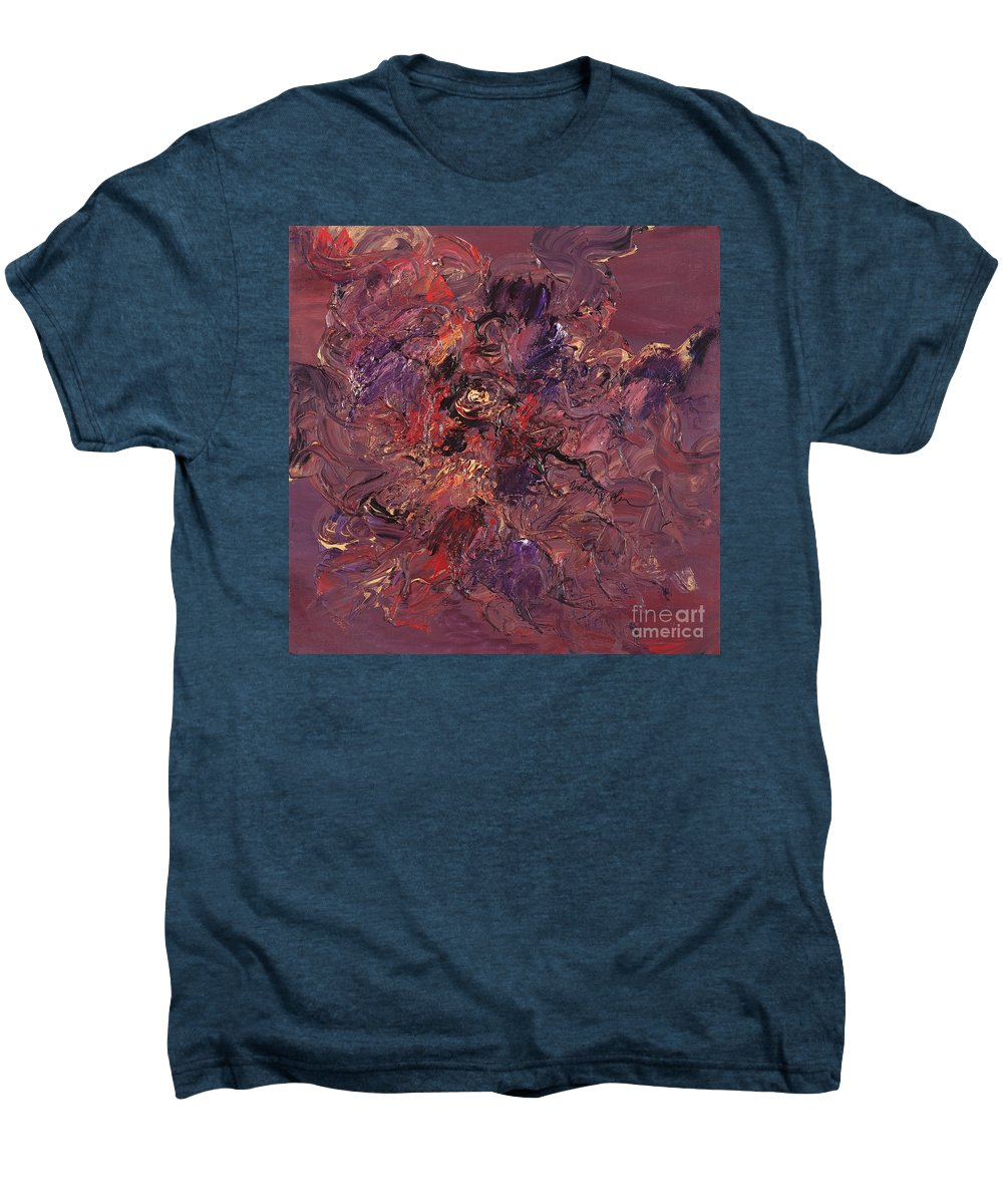 Love Men's Premium T-Shirt featuring the painting Love by Nadine Rippelmeyer