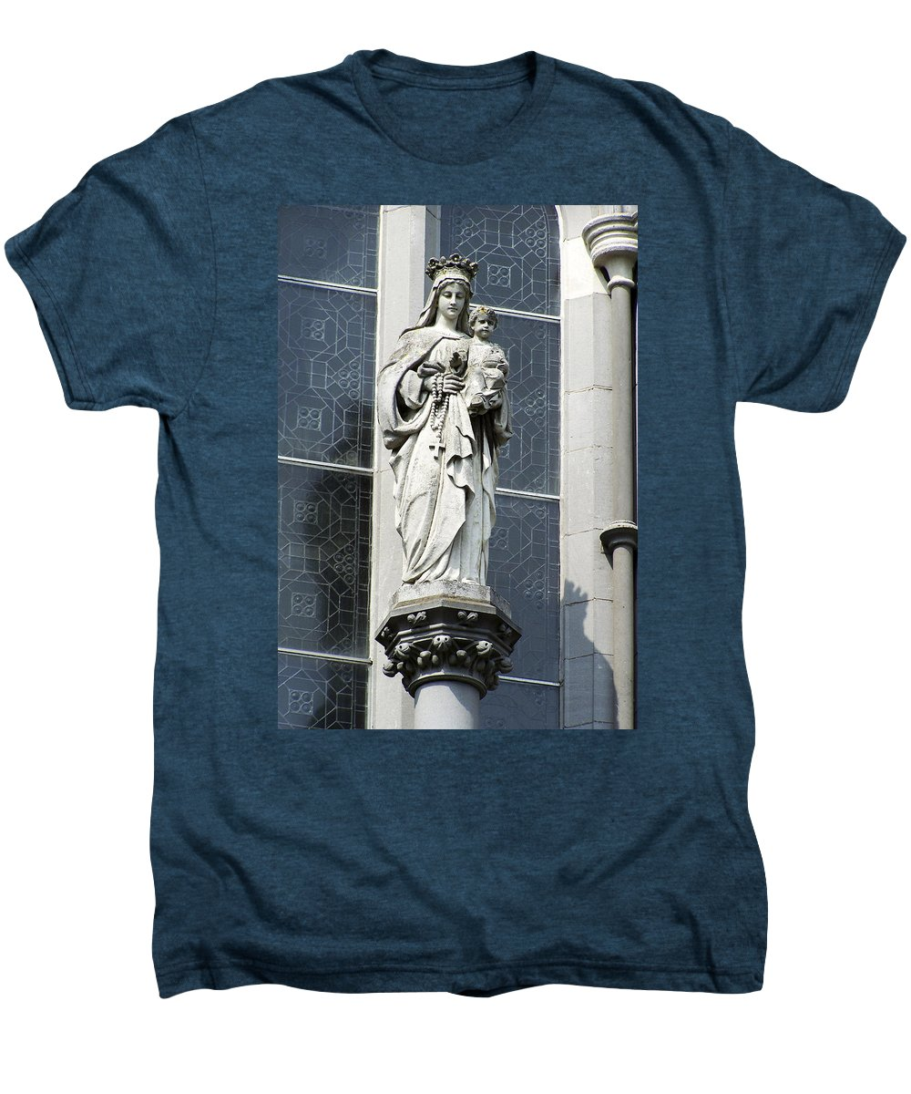 Ireland Men's Premium T-Shirt featuring the photograph Madonna And Child by Teresa Mucha