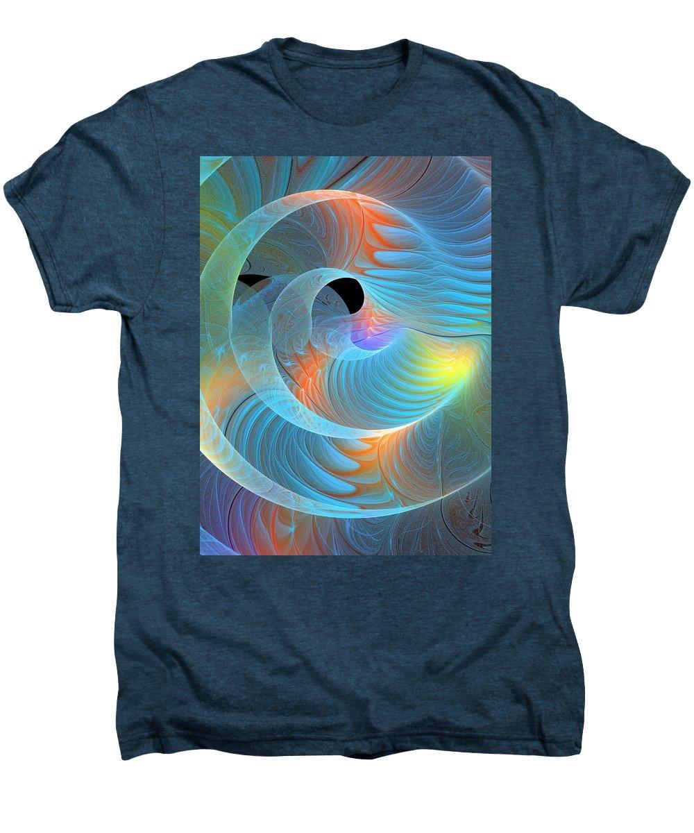 Digital Art Men's Premium T-Shirt featuring the digital art Moment Of Elation by Amanda Moore