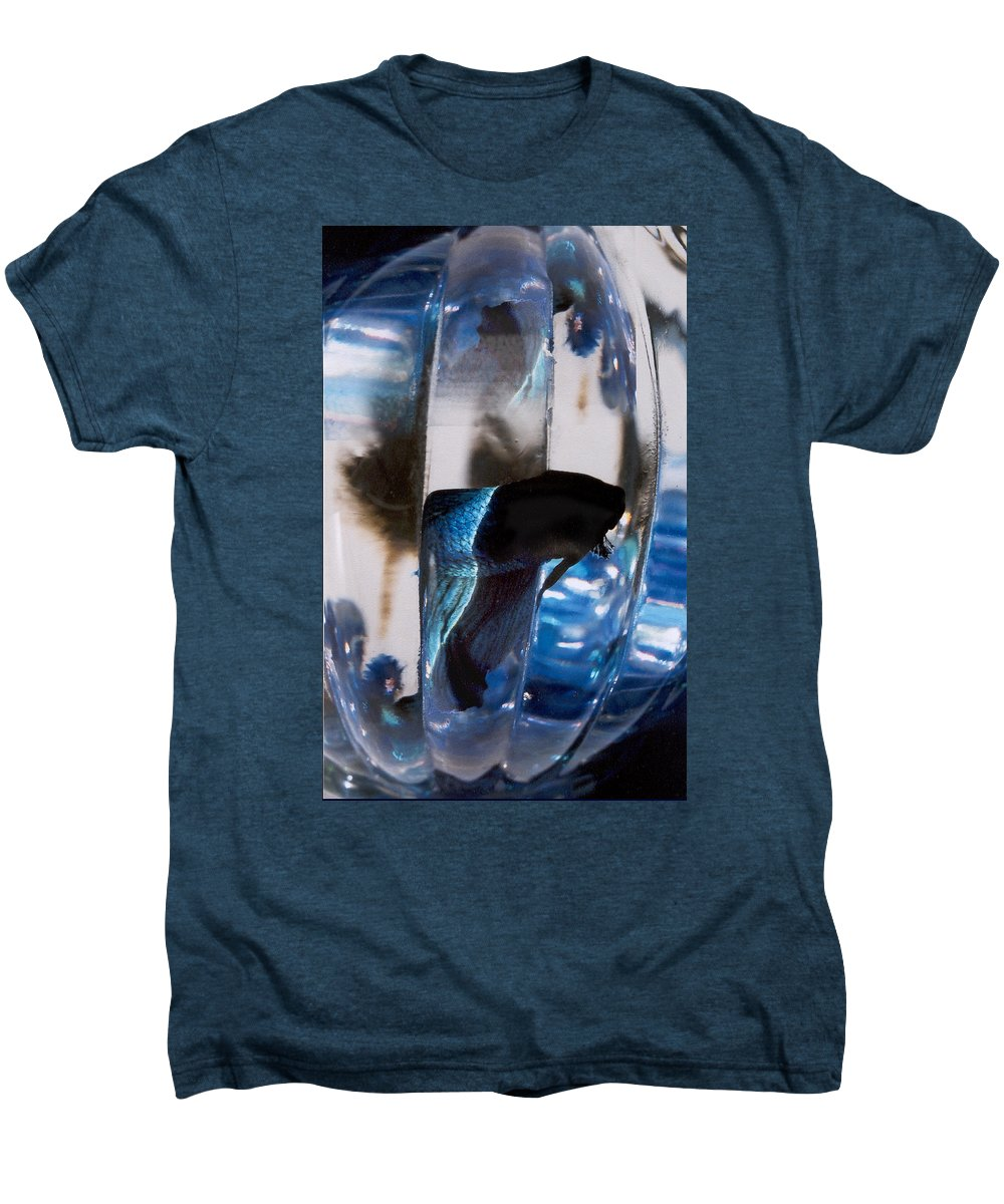 Abstract Men's Premium T-Shirt featuring the photograph panel three from Swirl by Steve Karol