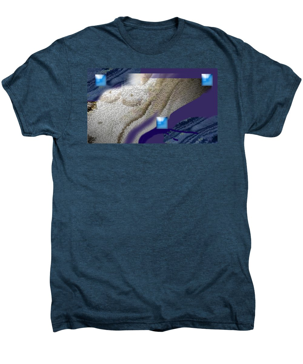 Abstract Men's Premium T-Shirt featuring the digital art Prelude To A Dream by Steve Karol