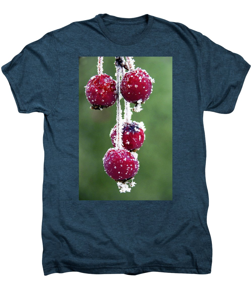 Berries Men's Premium T-Shirt featuring the photograph Seasonal Colors by Marilyn Hunt