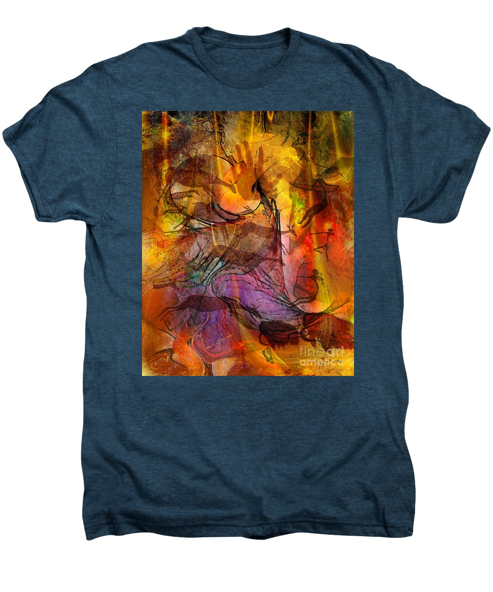 Shadow Hunters Men's Premium T-Shirt featuring the digital art Shadow Hunters by John Beck