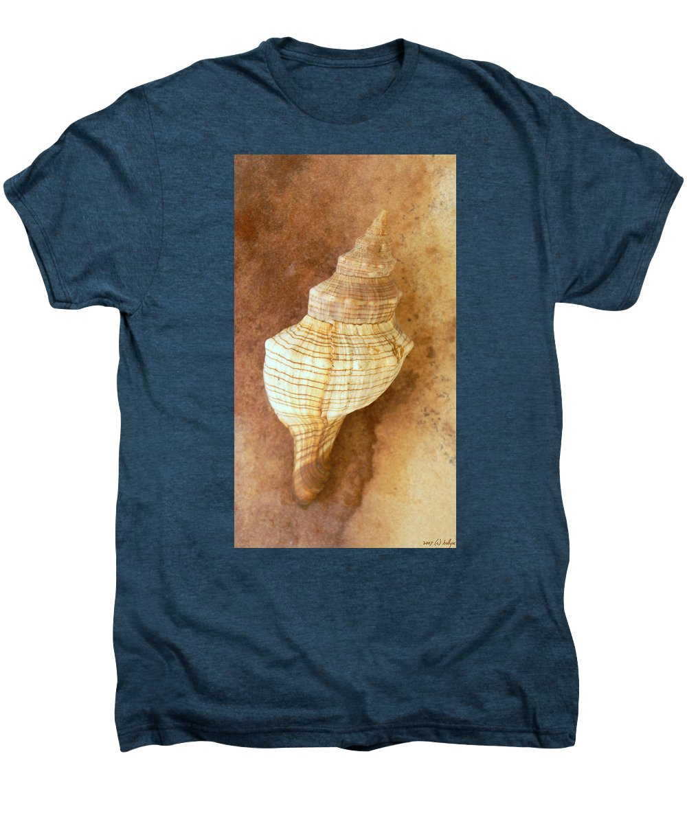 Still Life Men's Premium T-Shirt featuring the photograph Sounds Of The Sea by Holly Kempe