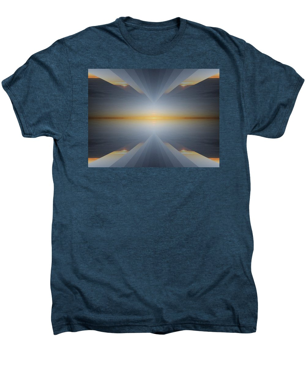 Sunrise Men's Premium T-Shirt featuring the digital art Sunrise At 30k 5 by Tim Allen