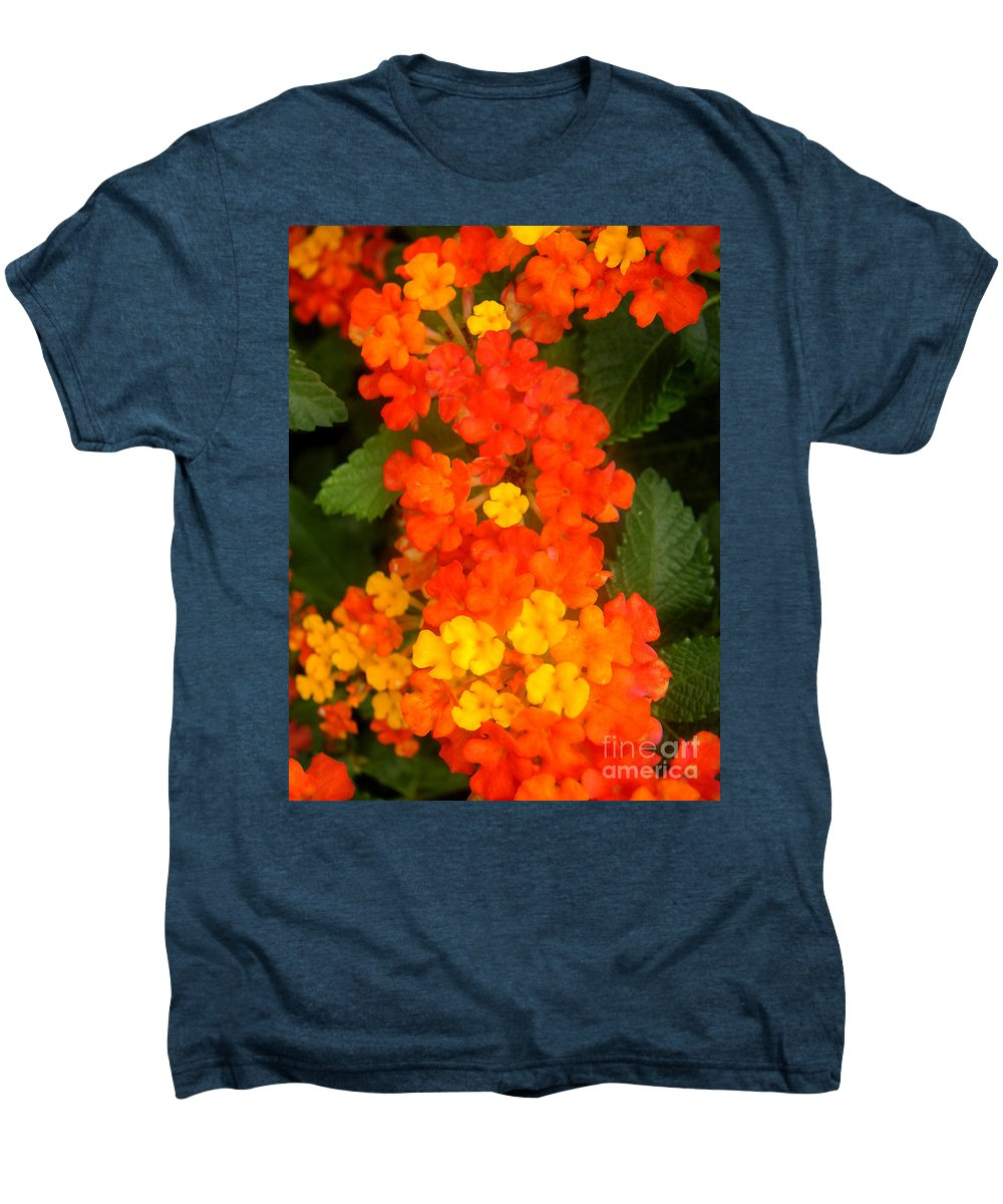 Nature Men's Premium T-Shirt featuring the photograph Volcanic Display by Lucyna A M Green