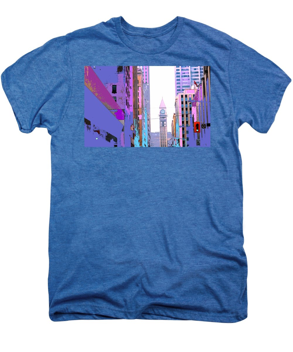 Bay Men's Premium T-Shirt featuring the photograph Toronto Old City Hall by Ian MacDonald